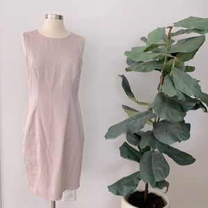 3/$20 H&M Pink Textured Open Back Dress Size 8